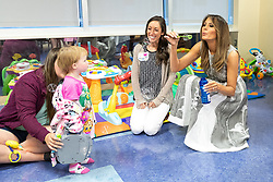 July 24, 2018 - Nashville, Tennessee, U.S. - First Lady Melania Trump blows bubbles with 18-month-old Elliegh Rasmussen during her visit Tuesday, July 24. 2018, to the Monroe Carell Jr. Children's Hospital at Vanderbilt in Nashville (Credit Image: ? Andrea Hanks/White House via ZUMA Wire/ZUMAPRESS.com)
