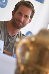 Ben Ainslie after winning the finals of the Argo Group Gold Cup 2010. Hamilton, Bermuda. 10 October 2010. Photo: Subzero Images/WMRT