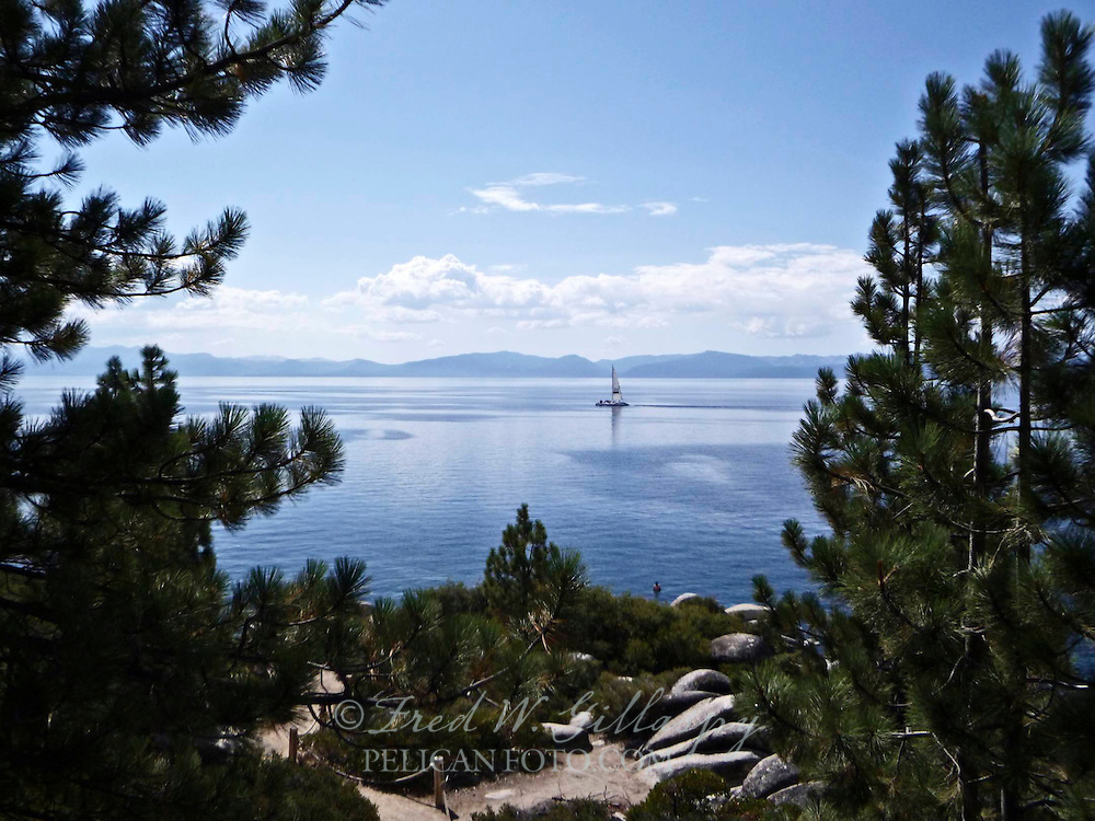 Sailing on Lake Tahoe II