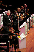 The Count Basie Orchestra performing at the Benaroya Hall in Seattle, Washington, USA March 31st, 2012
