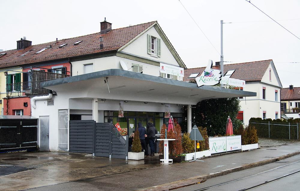 03.03.2016; Zuerich; Tankstelle an der Hardturmstrasse<br /> (Steffen Schmidt)