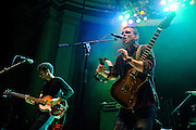 WASHINGTON, D.C. - November 3rd, 2010:  Brooklyn's White Rabbits open for Interpol at DAR Constitution Hall. (Photo by Kyle Gustafson/For The Washington Post)