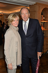LORD & LADY BRUCE DUNDAS at a party to celebrate the publication of 'Let's Eat meat' by Tom Parker Bowles held at Fortnum & Mason, Piccadilly, London on 21st October 2014.