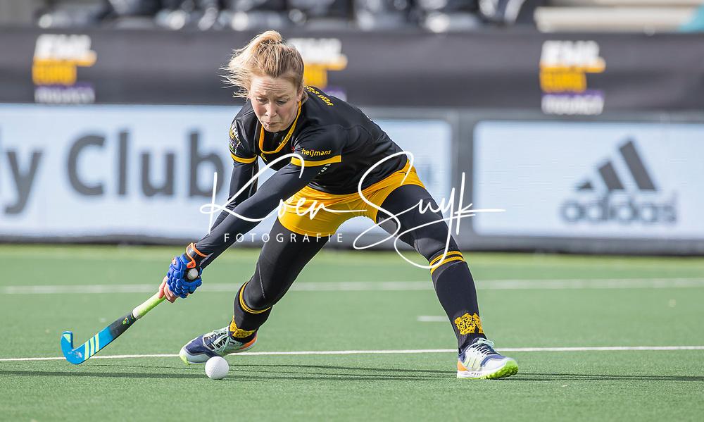 AMSTELVEEN - Ireen van den Assem (DenBosch)  tijdens  de Euro Hockey League finale dames, HC Den Bosch-Club Campo de Madrid (5-0).  COPYRIGHT KOEN SUYK