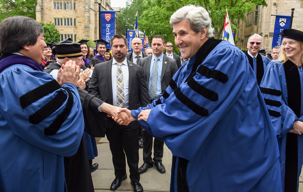 Photo by Mara Lavitt<br /> New Haven, CT<br /> May 22, 2017<br /> Scenes from the Yale Law School Commencement.