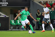 Saint-Etienne Forward Kevin Monnet-Paquet during the Europa League match between Saint-Etienne and Manchester United at Stade Geoffroy Guichard, Saint-Etienne, France on 22 February 2017. Photo by Phil Duncan.