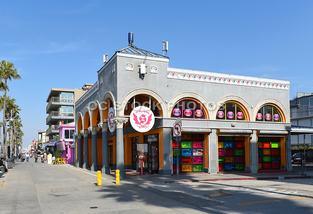 It's Sugar Candy Store on Ocean Front Walk in Venice Beach California