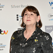 Heidi Thomas attends 2019 Writers' Guild Awards at Royal College of Physicians on 14 January 2019, London, UK