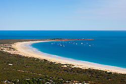 Aerial view of Gantheume Point, Broome.