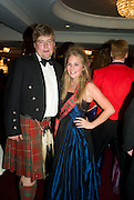 LORD HAY AND HIS SISTER LADY LALINE HAY, The Royal Caledonian Ball 2008. In aid of the Royal Caledonian Ball Trust. Grosvenor House. London. 2 May 2008.  *** Local Caption *** -DO NOT ARCHIVE-? Copyright Photograph by Dafydd Jones. 248 Clapham Rd. London SW9 0PZ. Tel 0207 820 0771. www.dafjones.com.