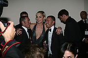 Sharon Stone WITH Dean and Dan Caten , Amfar's Inaugural Cinema Against Aids. Spazio Etoile. Rome. 26 October 2007. SUPPLIED FOR ONE-TIME USE ONLY> DO NOT ARCHIVE. © Copyright Photograph by Dafydd Jones . 248 Clapham Rd. London SW9 0PZ. 0208 820 0771.  www.dafjones.com