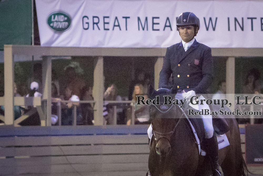 Phillip Dutton riding Fernhill Cubalawn competes in the Dressage phase at the 2015 Land Rover Great Meadow International on Friday, June 19, 2015, at the Great Meadow Foundation in The Plains, VA.