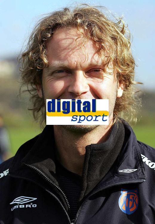 Fotball<br /> La Manga - Spania<br /> 08.03.2005<br /> Portretter Aalesund<br /> Foto: Morten Olsen, Digitalsport<br /> <br /> Ivar Morten Normark