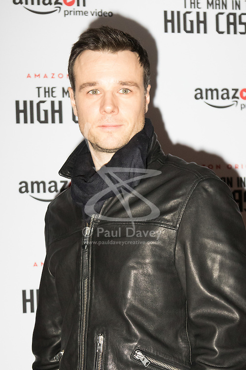 Curzon Bloomsbury, London, December 14th 2016. Celebrities attend the launch of Amazon Prime's European premiere for Season 2 of The Man In The High Castle. PICTURED: