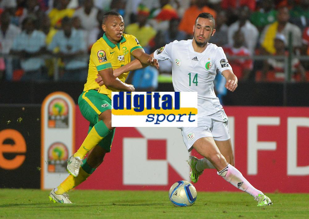 Andile Jali ( Afrique du Sud ) - Nabil Bentaleb ( Algerie )