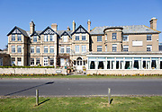 Traditional seaside hotel, Wentworth Hotel, Aldeburgh, Suffolk, England, UK