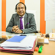 CAPTION: Dr Sharad Joshi, Joint Director of the Health Department, believes the collaboration between government agencies and partners like TARU has yielded positive results. LOCATION: Office of the Health Department, Indore, Madhya Pradesh, India. INDIVIDUAL(S) PHOTOGRAPHED: Dr Sharad Joshi.