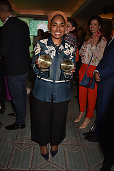 Nadiya Hussain at the Fortnum & Mason Food and Drink Awards, Fortnum & Mason Food and Drink Awards, London, England. 10 May 2018.