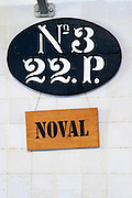 sign on vat quinta do noval douro portugal