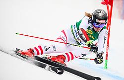 Manuel Feller of Austria competes during 1st run of Men's GiantSlalom race of FIS Alpine Ski World Cup 57th Vitranc Cup 2018, on March 3, 2018 in Kranjska Gora, Slovenia. Photo by Ziga Zupan / Sportida