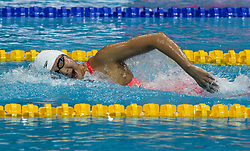 October 4, 2018 - Budapest, Hungary - Wang Jianjiahe competes in the Womens 400m Freestyle on day one of the FINA Swimming World Cup held at Duna Arena Swimming Stadium on Okt 04, 2018 in Budapest, Hungary. (Credit Image: © Robert Szaniszlo/NurPhoto/ZUMA Press)