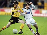 Fotball , 09 april 2006 , Tippeligaen , Lillestrøm - Rosenborg  3-3 ,  Roar Strand , Rosenborg og Espen Søgård, Lillestrøm
