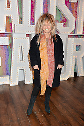 ELIZABETH EMANUEL at a party to celebrate the new partnership of Maids to Measure with Touker Suleyman held in The Winter Marquee, Home House, 20 Portman Square, London on 2nd March 2016.