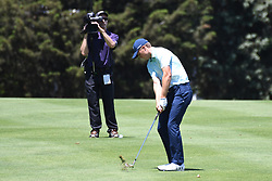 June 24, 2017 - Cromwell, Connecticut, U.S - Jordan Spieth approaches the the second green during the third round of the Travelers Championship at TPC River Highlands in Cromwell, Connecticut. (Credit Image: © Brian Ciancio via ZUMA Wire)
