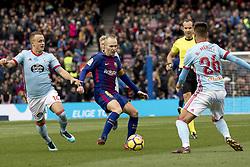 December 2, 2017 - Barcelona, Catalonia, Spain - Andres Iniesta during the spanih league match between FC Barcelona and RC Celta de Vigo at the Camp Nou Stadium in Barcelona, Catalonia, Spain  (Credit Image: © Miquel Llop/NurPhoto via ZUMA Press)