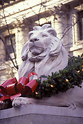 Christmas, New York Public Library, Manhattan, New York