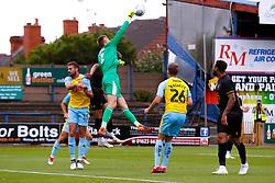 Marek Rodak of Rotherham United punches the ball away - Mandatory by-line: Ryan Crockett/JMP - 28/07/2018 - FOOTBALL - One Call Stadium - Mansfield, England - Mansfield Town v Rotherham United - Pre-season friendly