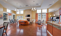 Interior Design and Architectural Photography of The Waldorf Skilled Nursing Facility by Jeffrey Sauers of Commercial Photographics, Architectural Photo Artistry in Washington DC, Virginia to Florida and PA to New England