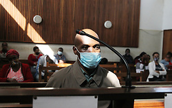 South Africa - Durban - 22 June 2020 - Police Constable Eugene Mchunu apperared in court on Monday on charges of assault<br /> Picture: Doctor Ngcobo/African News Agency(ANA)