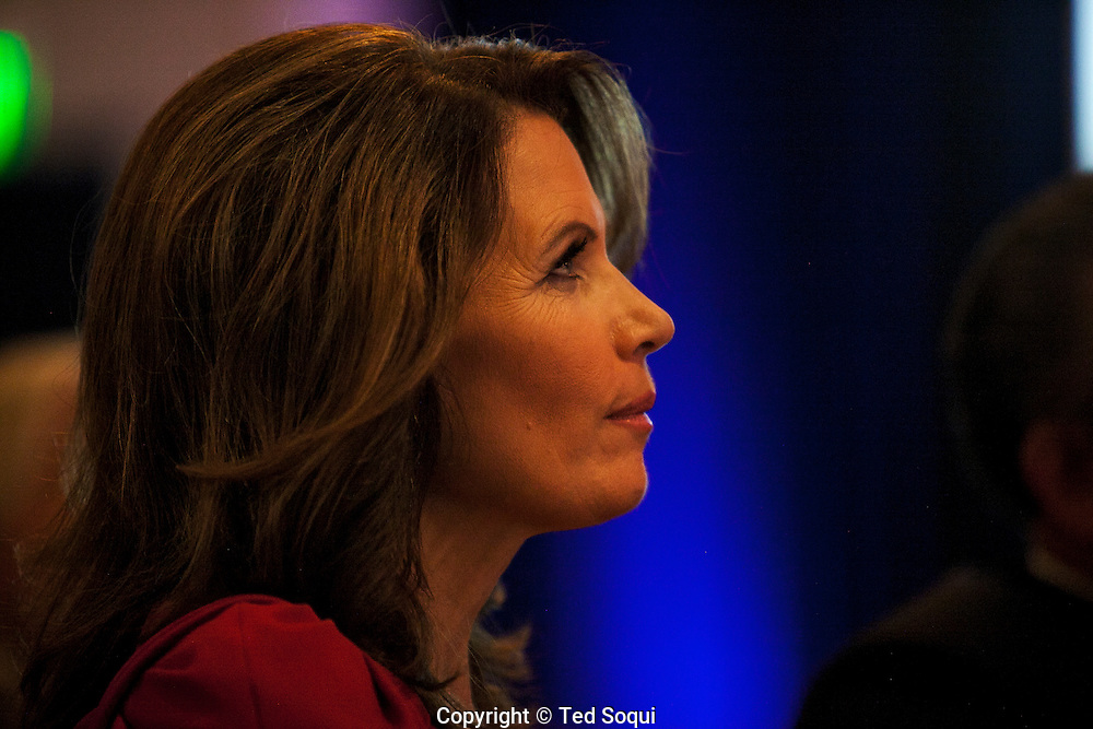 Michelle Bachmann, republican candidate for president, speaking to the California Republican Party 2011 Fall Convention.