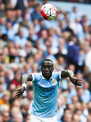 Bacary Sagna of Manchester City takes a throw in   - Mandatory byline: Matt McNulty/JMP - 07966386802 - 16/08/2015 - FOOTBALL - The Etihad Stadium -Manchester,England - Manchester City v Chelsea - Barclays Premier League