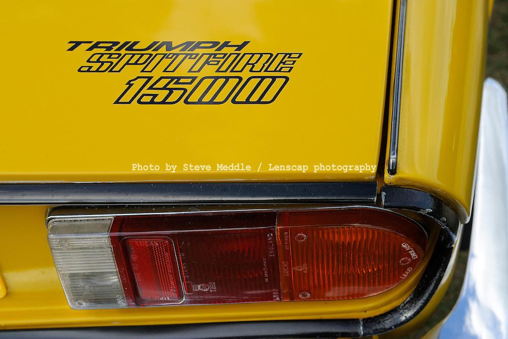 Triumph Spitfire 1500 1973-1980, Badge Detail - 2010