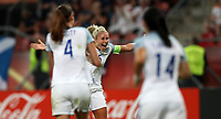 Football - 2017 UEFA Women's European [Euro] Championship - Group D: England vs. Scotland<br /> <br /> Steph Houghton of England celebrates scoring at Stadion Gagenwaard, Utrecht.<br /> <br /> COLORSPORT/LYNNE CAMERON