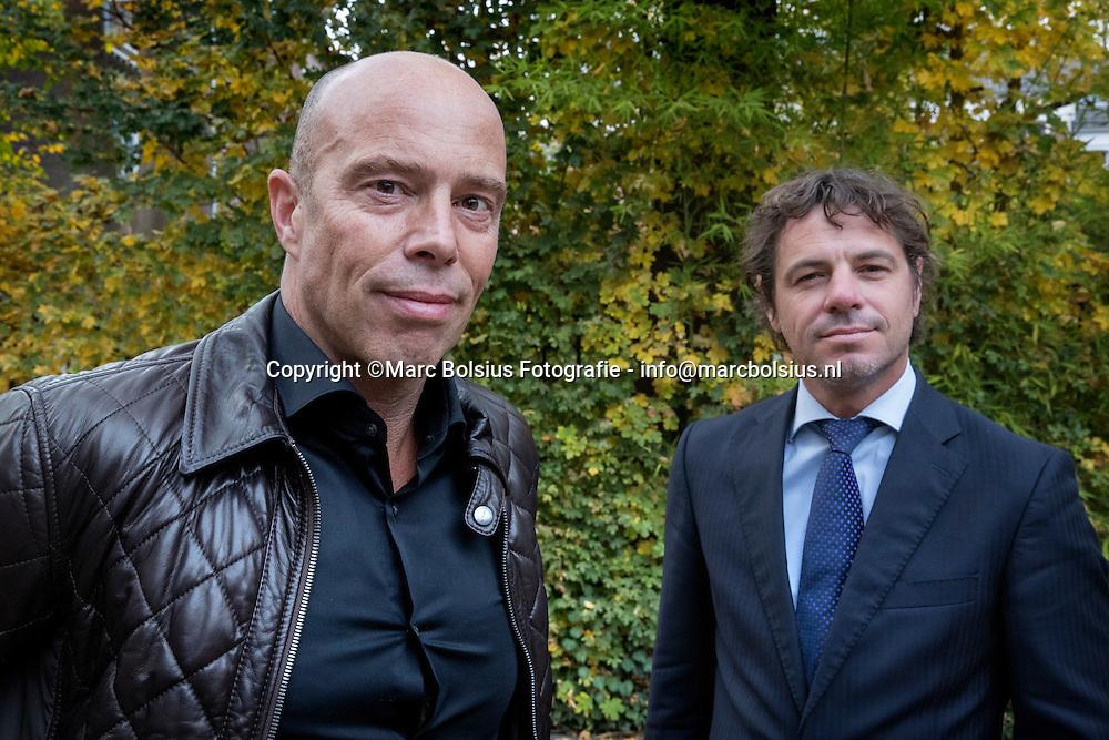 Nederland,  Den Bosch, voetbalclub Fc Den Bosch wisselt van voorzitter. Jan Hein Schouten wordt de nieuwe en Maarten de Gruyter is de scheidende voorzitter.