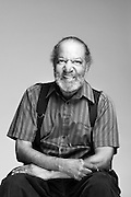 Rickard Robinson always wears a smile and his signature suspenders. Richard served in the Army as an aircraft mechanic from 1955 to 1976 and deployed in support of the Vietnam War.<br /> <br /> Richard T. Robinson<br /> Army<br /> E-6<br /> Aircraft Maintenance<br /> 1955 - 1976<br /> Vietnam<br /> <br /> Veterans Portrait Project<br /> St. Louis, MO