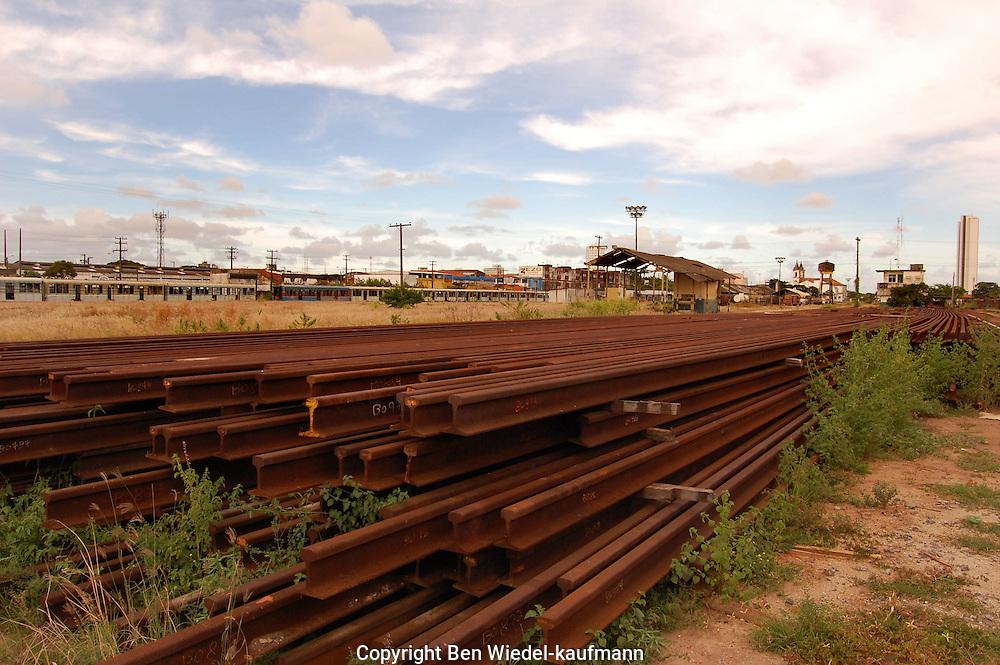 Cais José Estilita, Recife, Brazil. Major terminus of the Northeast's declining railway system.