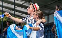 ANTWERPEN -  Scotland-England . Belfius Eurohockey Championship (men) hockey. supporters   COPYRIGHT KOEN SUYK