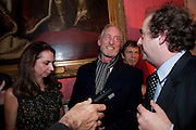 NANCY SLADEK; CHARLES DANCE; ALEXANDER WAUGH, The 2009 Literary Review Bad sex in Fiction award. In and Out Club. St. James's Sq. London. 30 November 2009