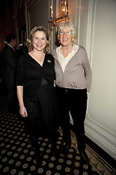 Left to right, HESTER GRAY and her mother ROSE GRAY at the 2009 Tatler Restaurant Awards in association with Champagne Louis Roederer held at the Mandarin Oriental Hyde Park, 66 Knightsbridge, London SW1 on 19th January 2009.