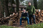 COLUMBIA, MD -- 12/20/14 -- Mark Johnson-Lewis, 48, and his son, Tyler Lewis, 22, talk about the complexity of being a biracial family..…by André Chung #_AC23236