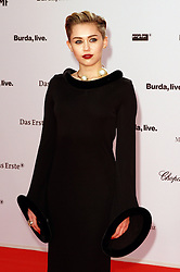 60717959 <br /> Miley Cyrus at the Bambi Awards 2013 at Stage Theatre in Berlin, Germany, Thursday, 14th November 2013. Picture by imago / i-Images<br /> UK ONLY