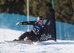 Baumeister Stefan during the men's Snowboard giant slalom of the FIS Snowboard World Cup 2017/18 in Rogla, Slovenia, on January 21, 2018. Photo by Urban Meglic / Sportida