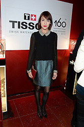 ELLA CATLIFF at a party to celebrate the 160th anniversary of Tissot held at the Supperclub, 12 Acklam Road, London, W10 on 17th October 2013.