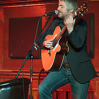 John Bramwell (I Am Kloot) performing on stage at the closing event for the Thirty One Songs project which has raised over Thirty Thousands Pounds for CALM (Campaign Against Living Miserably). Manchester Town Hall, Albert Square, Manchester, United Kindom, 2013-03-03