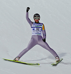 05.02.2011, Heini Klopfer Skiflugschanze, Oberstdorf, GER, FIS World Cup, Ski Jumping, Finale, im Bild Kamil Stoch (POL) , during ski jump at the ski jumping world cup in Oberstdorf, Germany on 05/02/2011, EXPA Pictures © 2011, PhotoCredit: EXPA/ P. Rinderer