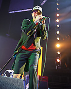 WASHINGTON, DC -  May 8th, 2012 -  Anthony Kiedis of the Red Hot Chili Peppers performs at the Verizon Center in Washington, D.C. The band was inducted into the Rock N Roll Hall Of Fame earlier this year and released their 10th studio album, I'm With You, in late 2011. (Photo by Kyle Gustafson/For The Washington Post)